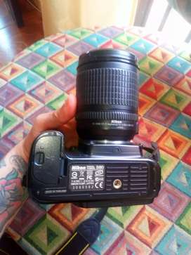 Se vende Cámara Nikon D80 Profesional