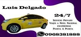 Servicio De Taxi Fletes Dentro y Fuera De La Ciudad De Manta. Viajes Turismo Recorridos Encomiendas Mandados