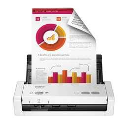 Escáner Portátil Brother ADS-1200 para Documentos Dúplex