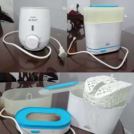 Esterilizador y calentador Avent
