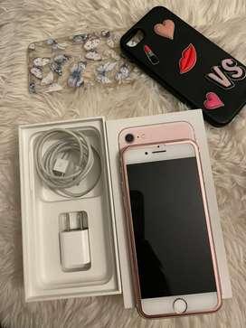 Iphone 7 ROSA 32gb americano  desbloqueado de fabrica