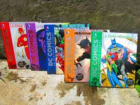 LIBROS DE COLECCION DC COMICS LA HISTORIA VSUAL.