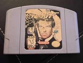 Juego Nintendo N64 Golden eye 007 Videojuego 100% Original segunda mano  Chacarita, Capital Federal