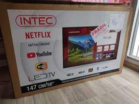 Vendo Smart TV de 58 pulgadas marca intec, completamente nuevo.