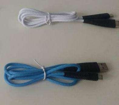 PROMOCION CABLE CARGADOR USB REFORZADO COLORES PARA CELULAR