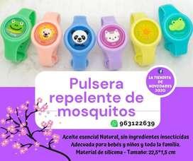 Pulsera anti mosquitos repelente