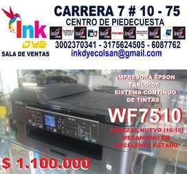 VENDO IMPRESORA Epson WF7510 CABEZAL NUEVO