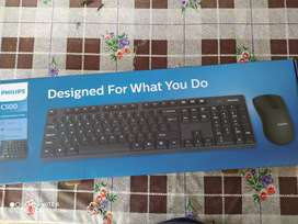 Mouse teclado Philips combo bluetooth