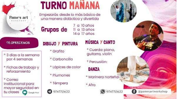 TALLER ARTISTICO DE VERANO 0