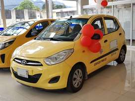 Taxi Hyundai I10 2016 bogota opciones de financiamiento bajo kilometraje
