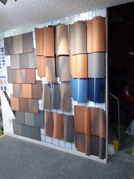 Ladrillos perfiles tejas estucos pinturas impermeabilizante