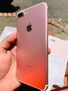 Vendo iphone 7 Plus Oro Rosa 32GB.