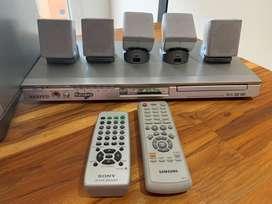 Teatro en Casa Sony + DVD con Karaoke Samsung