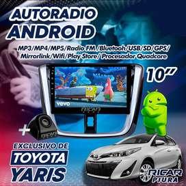 Autoradio con consola para Toyota Yaris