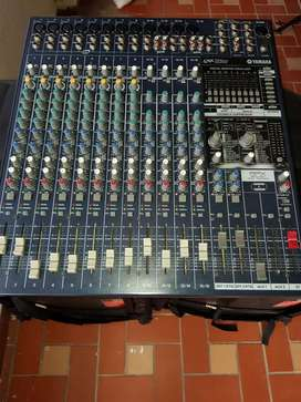 CONSOLA YAMAHA POTENCIADA 16 CANALES DIGITAL