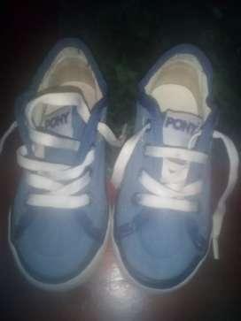 Zapatillas poni de niño