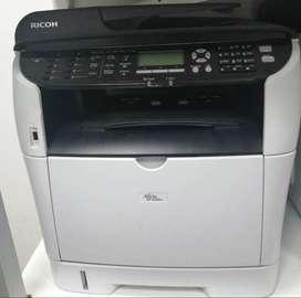 Impresora Ricoh Sp3500sf Multifunciones