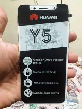 Huawei y5 con un mes de uso