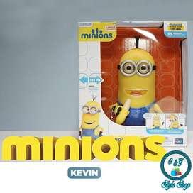Minions Kevin Figura de Acción con Banana Original