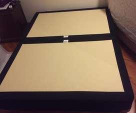 Vendo base cama De 1.40 con colchon Todo de Americana de Colchones