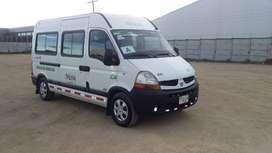 Microbus buseta Renault master 2012 para 15 pasajeros