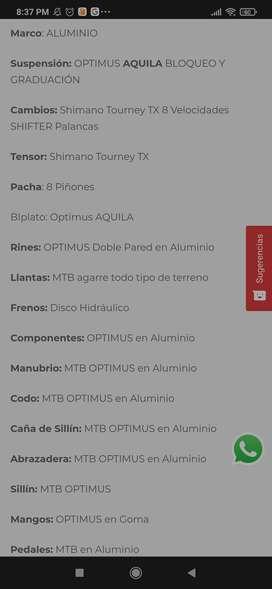 Sicla: Optimus Aquila Talla: L