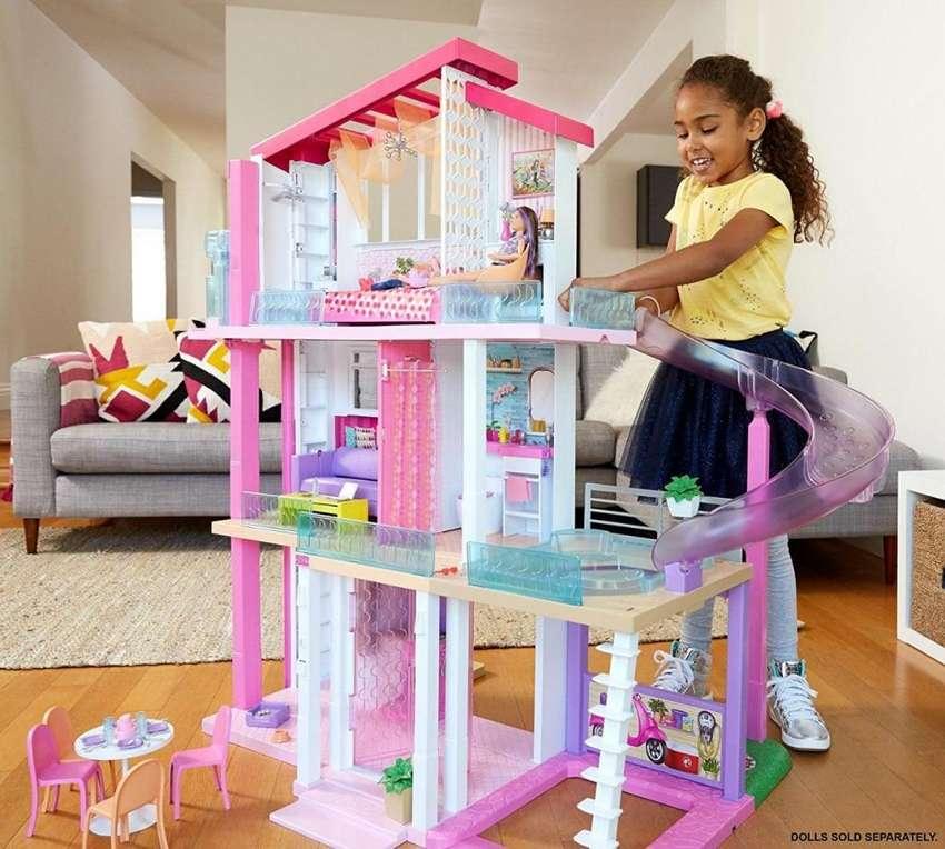 Nueva Casa Barbie Modelo 2019 Original Importada Mattel con Tobogan 0