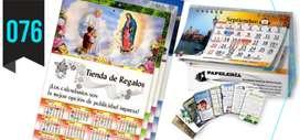 Almanaques y calendarios, agendas, lapiceros Personalizados
