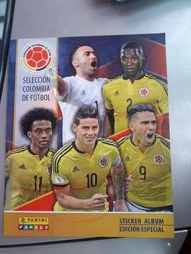 Album selección Colombia edición especial, + Laminas completas  para pegar