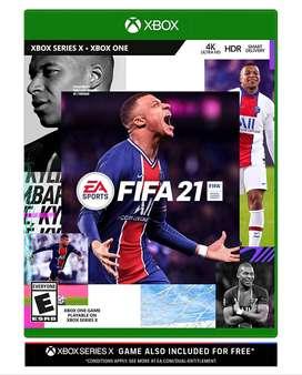 Fifa 21 Xbox One /series X/s Nuevo Físico Standard Edition!!