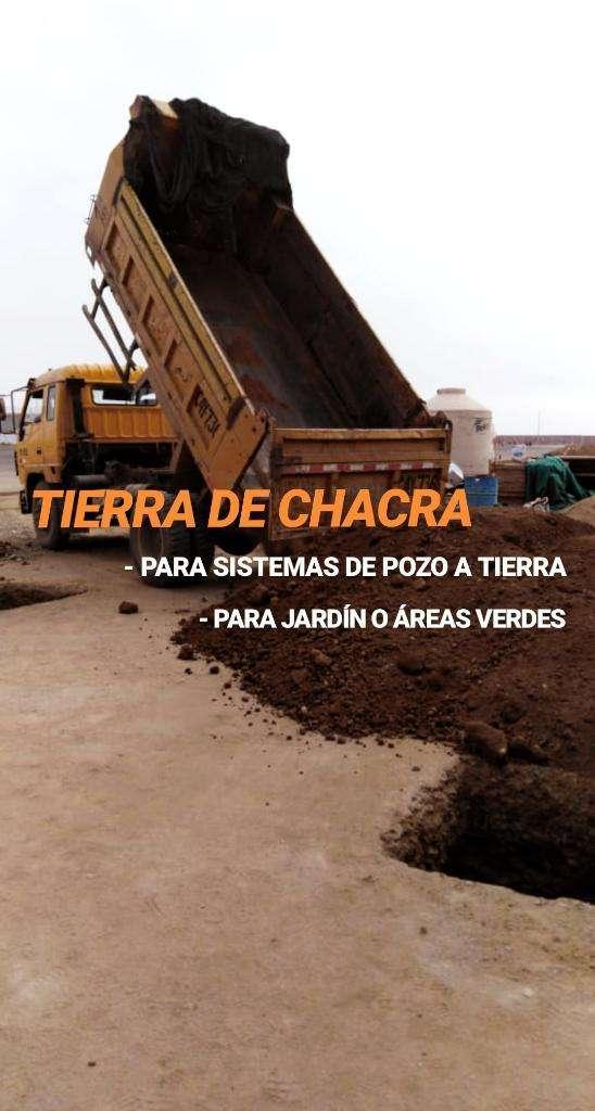 TIERRA DE CHACRA PARA POZO A TIERRA Y JARDIN 0