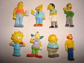 Muñecos Jack Los Simpsons 2007 Nuevos Sin Uso.