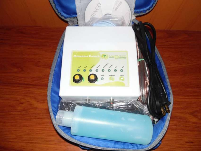EQUIPO ELECTROESTIMULACION 8 ELECTRODOS 0