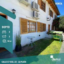 Duplex 2 dormitorios,2 baños, cochera y Baulera