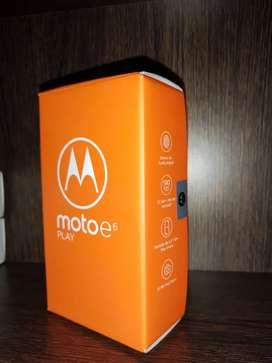 Moto e6 play 32GB Nuevo