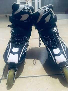 Vendo: Rollers marca Action Super- MUY BUEN ESTADO. Talle L (40-43). M