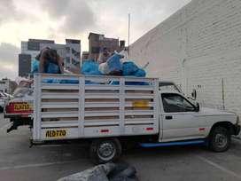 Eliminación de desmonte de sótanos con camionetas