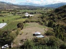 Venta de terreno en Chaltura, cantón Antonio Ante, Imbabura.