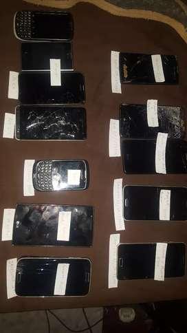 Vendo lote de celulares Samsung , LG y otros