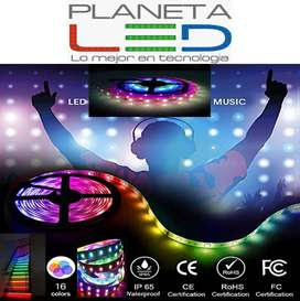 Cinta Led Inteligente Rgb Full Multicolor Secuencial Magic