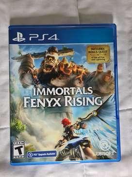 Immortals fenix rising ps4