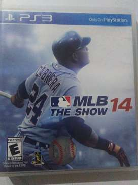 Juego de play station 3 - MLB the show 14