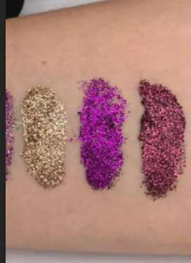 Glitter para maquillaje 3 en 1 tengo