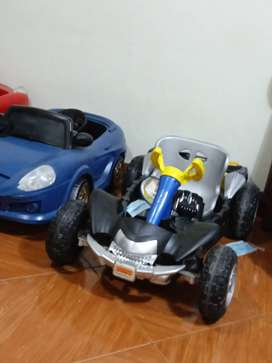 Carros ELECTRICO a de niños usados
