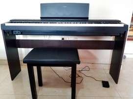 Piano Yamaha P125 Excelente estado