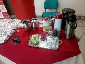ESTACIÓN DE CAFÉ Y AGUA