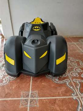 Carro batman batimovil para niño recargable