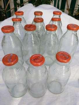 Botellas Gatorade limpias y con tapa