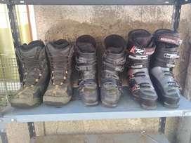 Vendo botas de sky