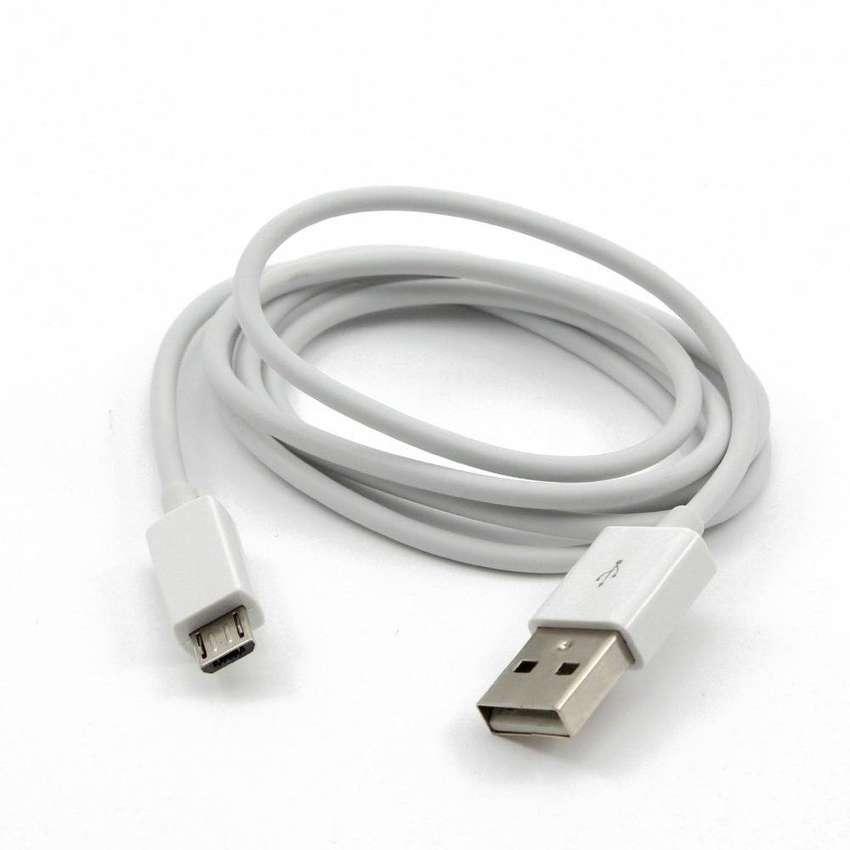 Cable de datos y carga micro usb 2 mtrs 0